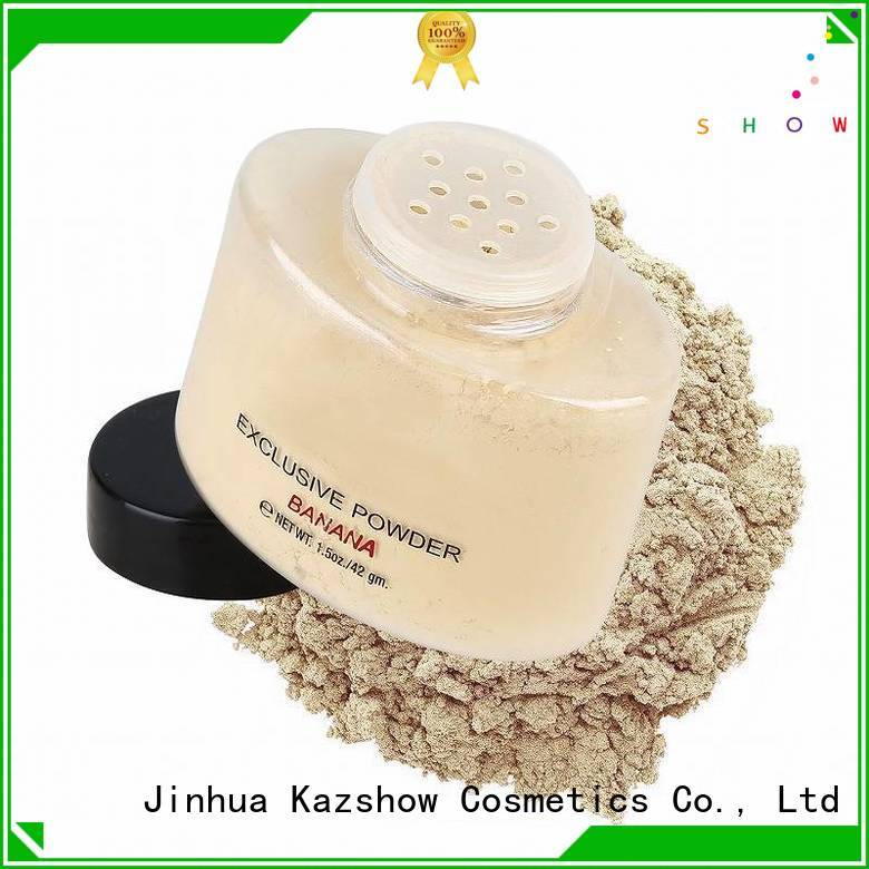 Kazshow trendy translucent face powder buy products from china for young ladies