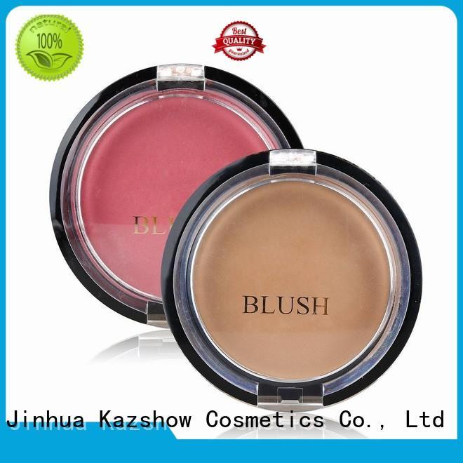 Kazshow waterproof blush wholesale for highlight makeup