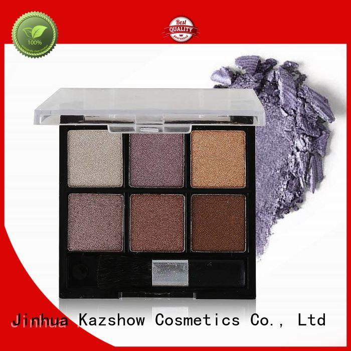 Kazshow Anti-smudge best eyeshadow palette china products online for beauty