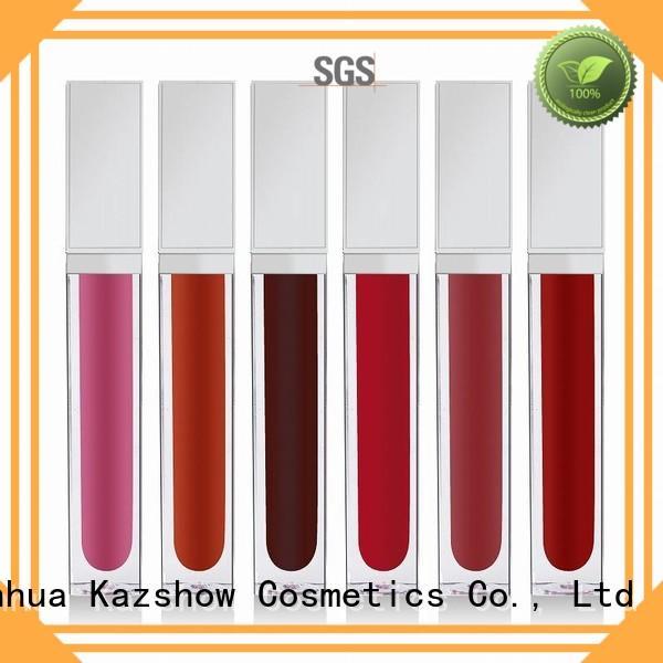 Kazshow red lip gloss environmental protection for lip makeup