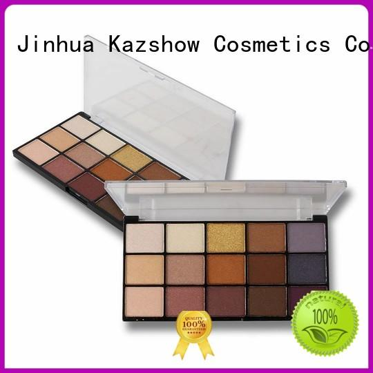Kazshow Anti-smudge most popular eyeshadow palettes cheap wholesale for beauty