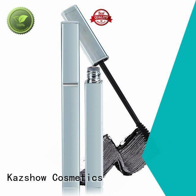 Kazshow Anti-smudge 3d lash mascara manufacturer for eyes makeup