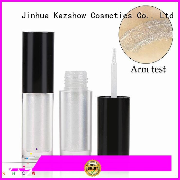 Kazshow waterproof liquid glitter eyeshadow with competitive price for beauty