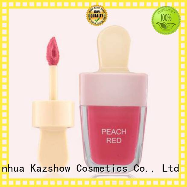 Kazshow sparkly matte lip gloss advanced technology for lip