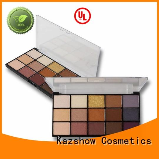 Kazshow Anti-smudge professional eyeshadow palette for eyes makeup