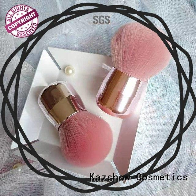 Kazshow pink makeup brushes factory price for eyes makeup