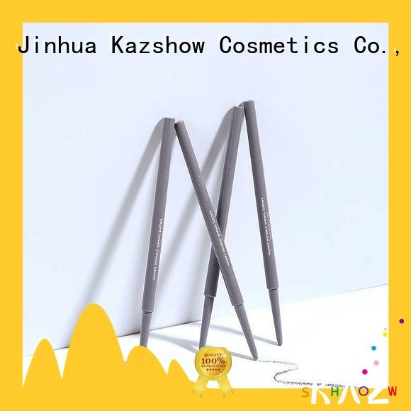 Kazshow felt tip eyebrow pen factory for eyebrow