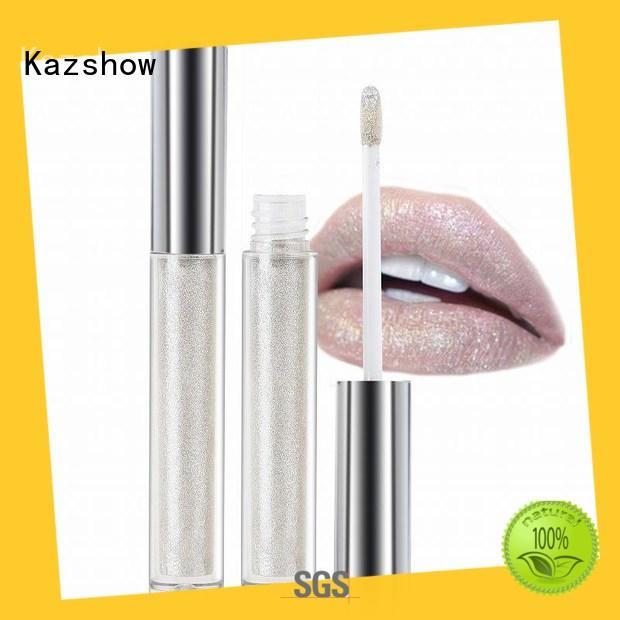 Kazshow shimmer lip gloss advanced technology for lip makeup