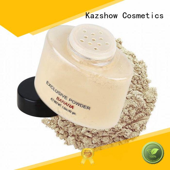 Kazshow matte face powder directly price for oil skin
