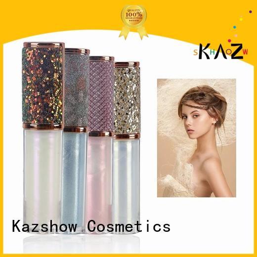 Kazshow non-stick shiny lip gloss china online shopping sites for lip