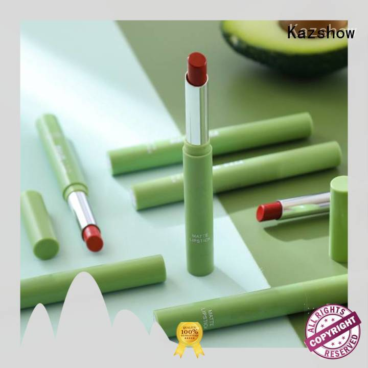 Kazshow trendy waterproof lipstick wholesale products to sell for lips makeup