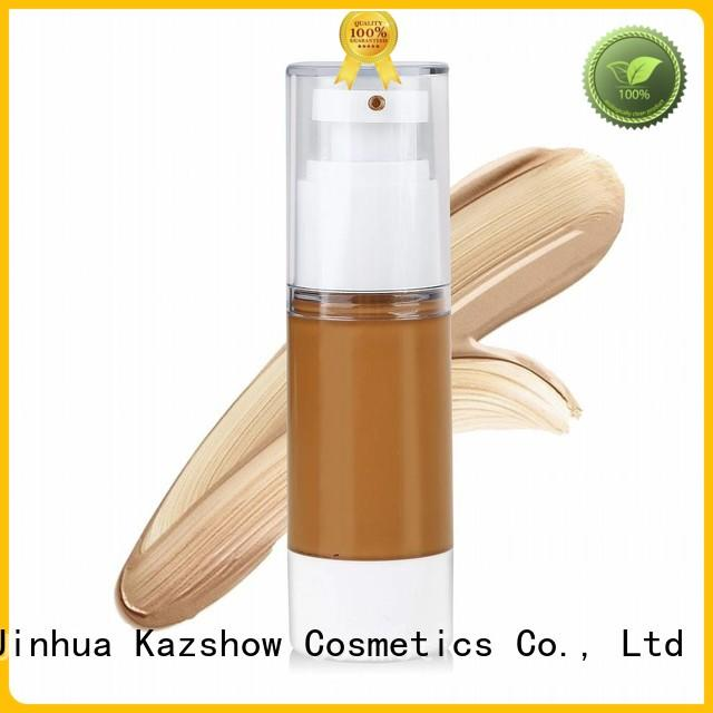 Kazshow silky liquid foundation promotion for face cosmetic