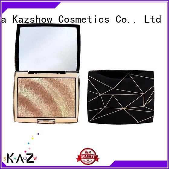 Kazshow Anti-smudge sparkly highlighter for face makeup