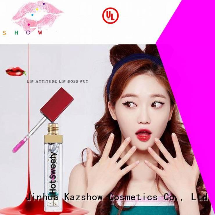 Kazshow moisturizing lip gloss oil personalized for lip