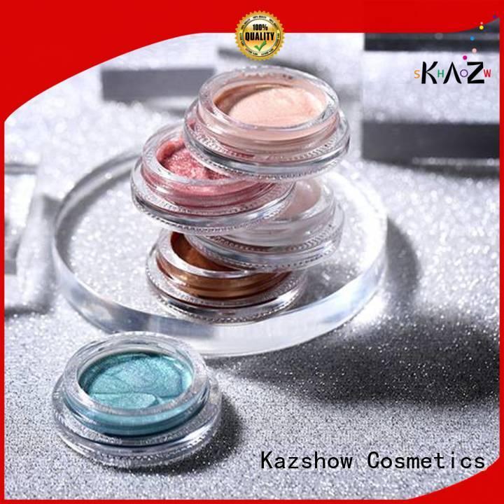 Kazshow liquid glitter eyeshadow factory price for eyeshadow