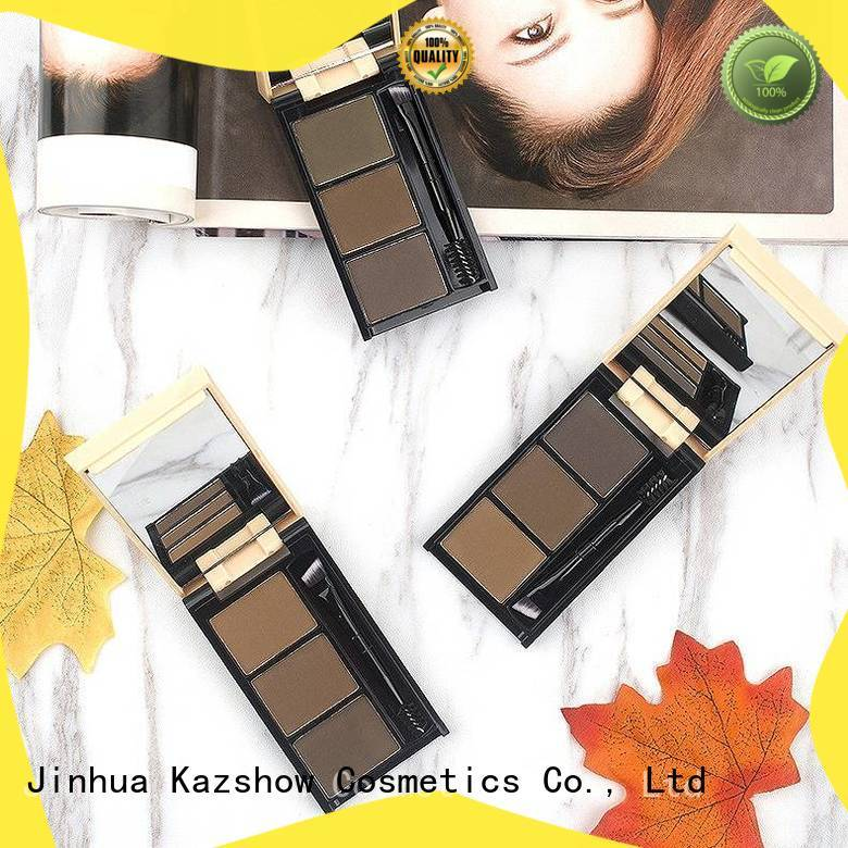 Kazshow dark brown eyebrow powder from China for young ladies
