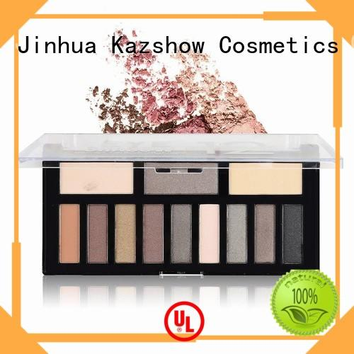 Kazshow colorful pro eyeshadow palette wholesale products for sale for women