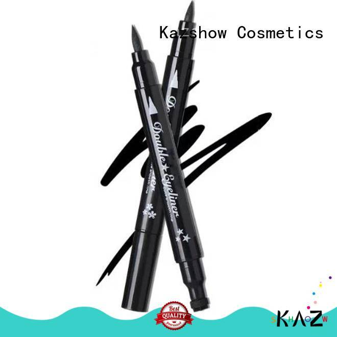 Kazshow glitter best waterproof eyeliner pencil on sale for ladies