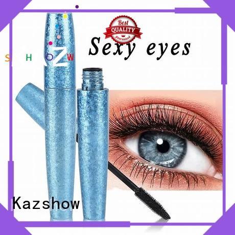 Kazshow eyelash curling mascara china products online for eyes makeup