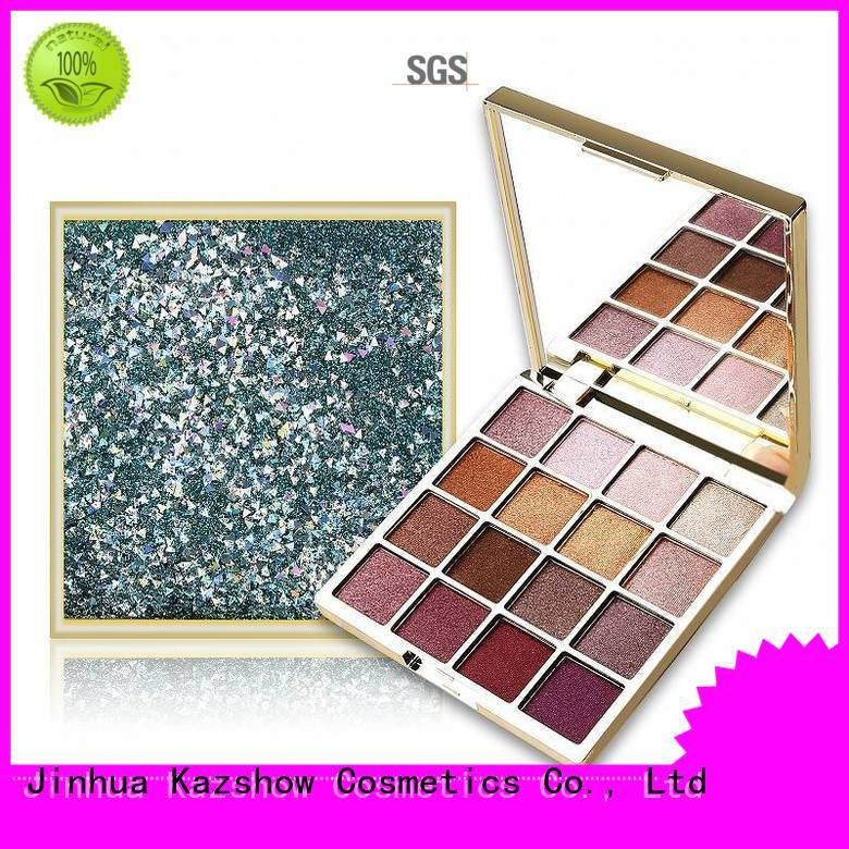 Kazshow natural eyeshadow palette manufacturer for beauty