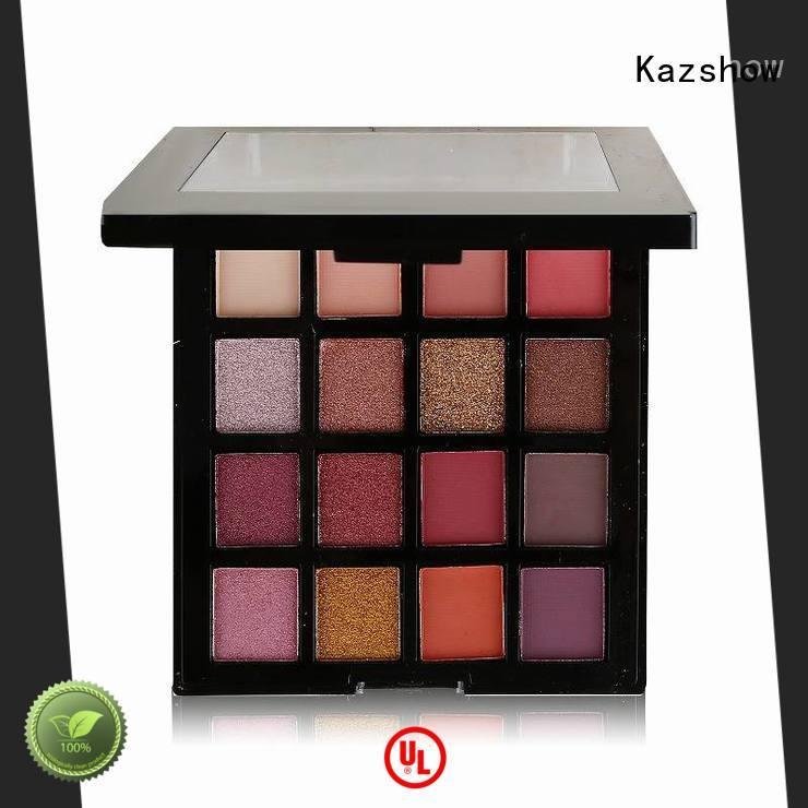 Kazshow glitter best eyeshadow palette cheap wholesale for beauty