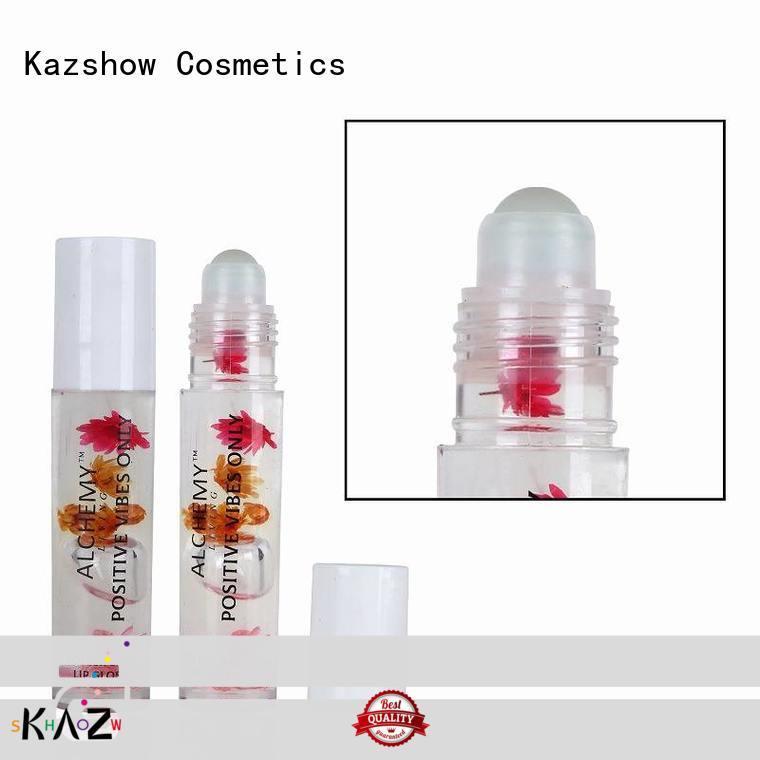 Kazshow customize moisturizing lip oil factory price for lips makeup