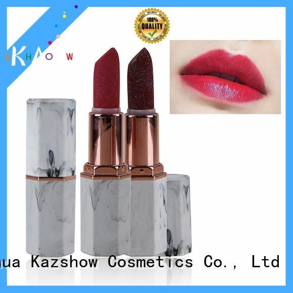 Kazshow unique design lip matte lipstick wholesale products to sell for lips makeup