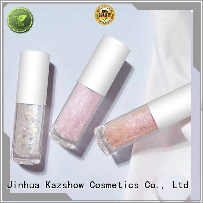 Kazshow waterproof liquid glitter eyeshadow personalized for eyeshadow