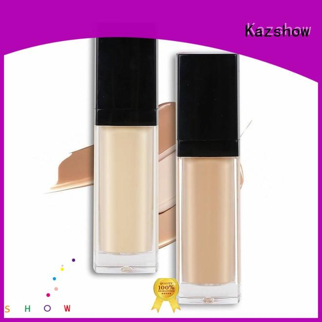 Kazshow waterproof full coverage foundation for oily skin promotion