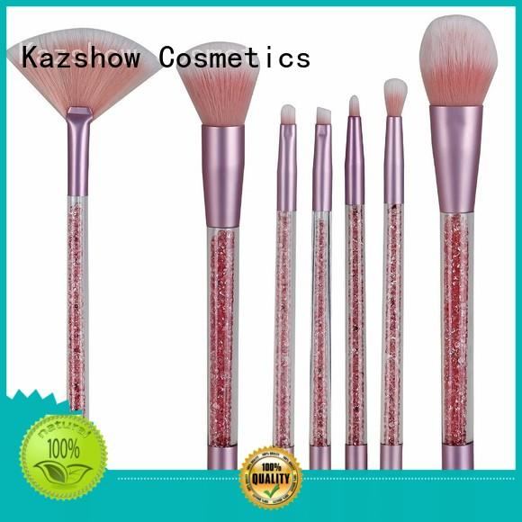 Kazshow full makeup brush set directly sale for face makeup