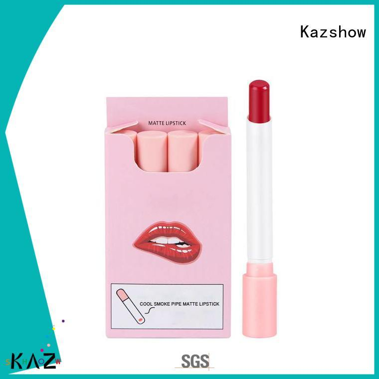 Kazshow long lasting best long lasting lipstick wholesale products to sell for women
