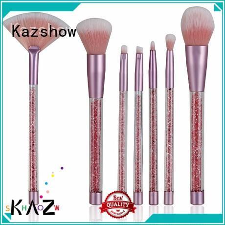 Kazshow popular full makeup brush set china wholesale website for cheek makeup