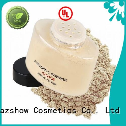 Kazshow yellow face powder directly price for face