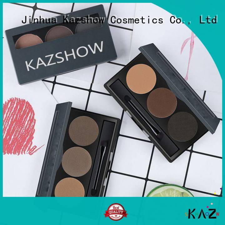 Kazshow waterproof eyebrow powder from China for eyes makeup