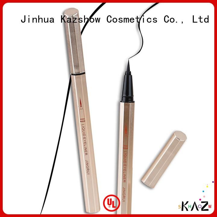 Kazshow waterproof liquid eyeliner pen on sale for eyes makeup
