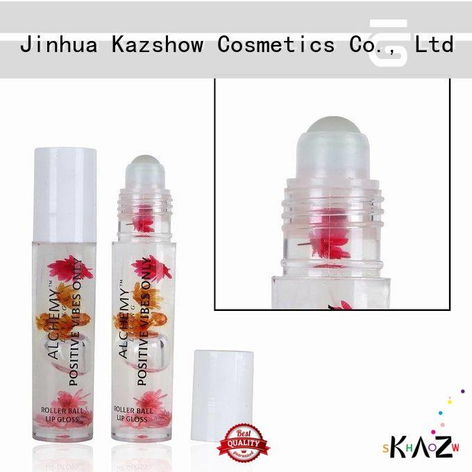 Kazshow moisturizing lip oil personalized for lips makeup