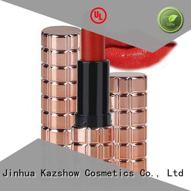 Kazshow fashion hot pink lipstick for lipstick