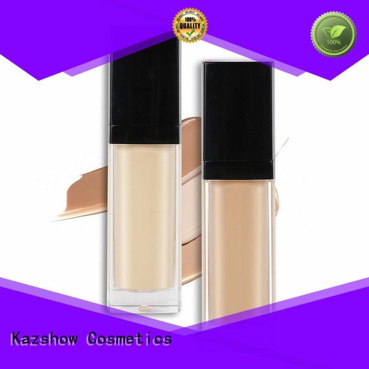 Kazshow liquid foundation promotion for oil skin