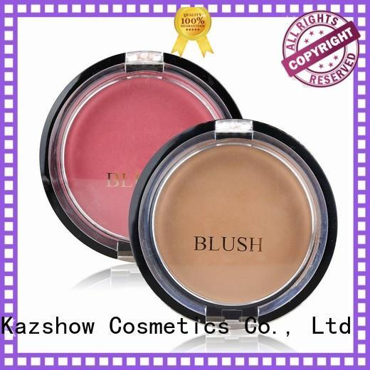 Kazshow long lasting blush personalized for cheek