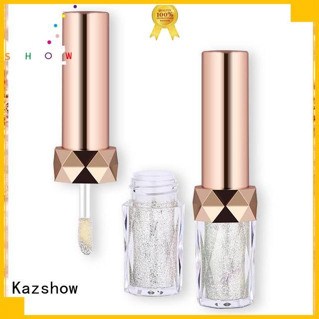 Kazshow crystal liquid eyeshadow with competitive price for eyes makeup