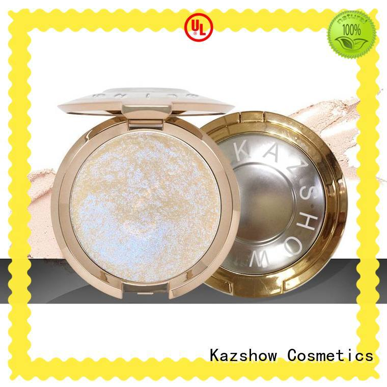 Kazshow waterproof face highlighter directly price for face makeup