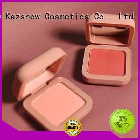Kazshow popular long lasting blush personalized for face makeup
