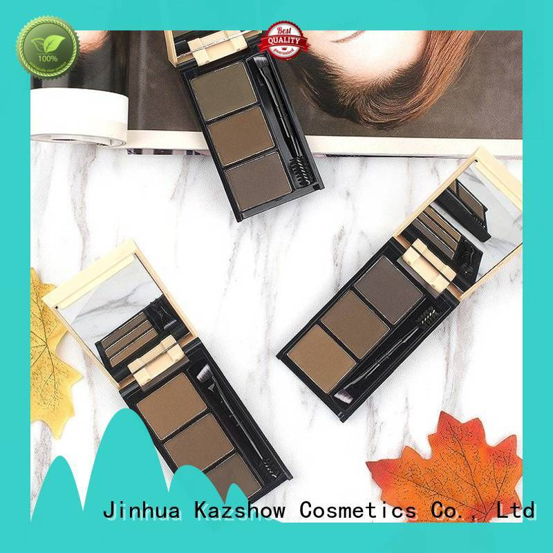 waterproof dark brown eyebrow powder from China for young ladies