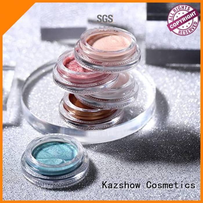 Kazshow liquid glitter eyeshadow personalized for eyeshadow