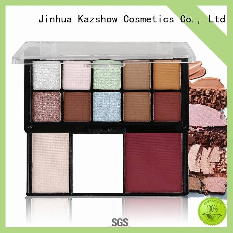 Kazshow permanent pink eyeshadow palette for women
