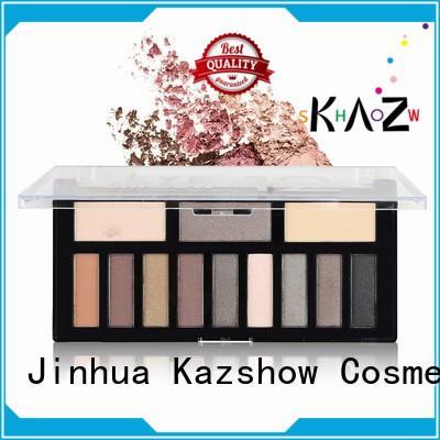 Kazshow glitter eye palette manufacturer for eyes makeup