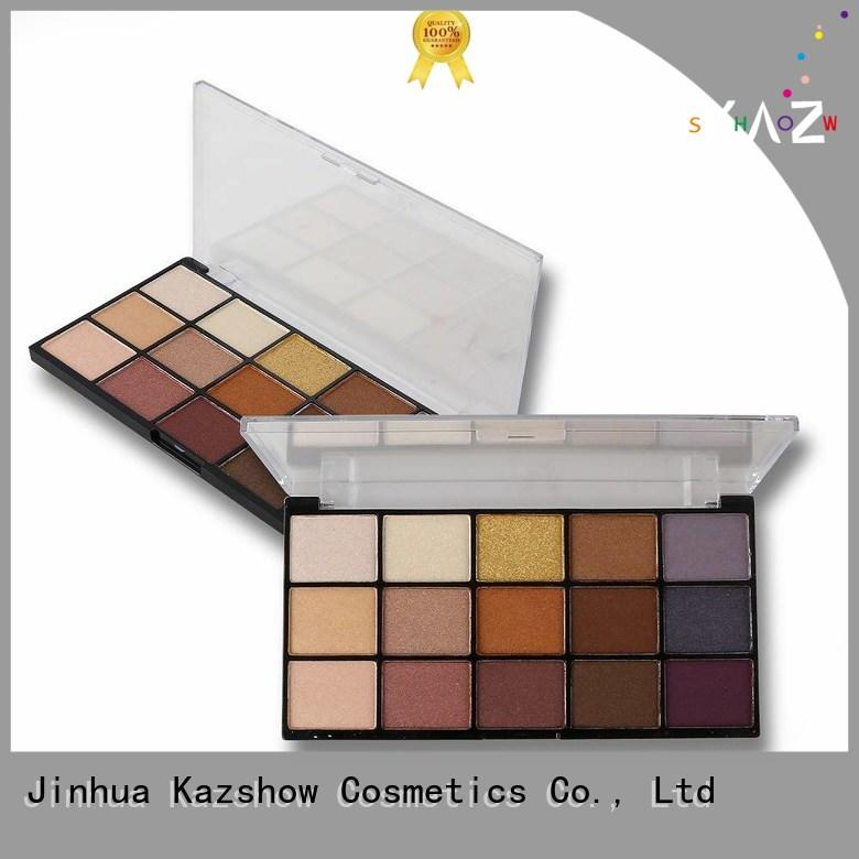 Kazshow shimmer eyeshadow palette manufacturer for women