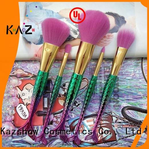 fashion pink makeup brushes factory price for highlight makeup