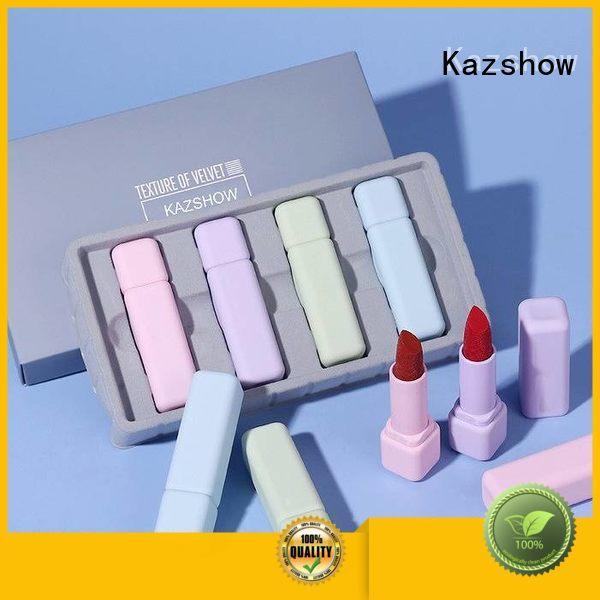 Kazshow long lasting orange red lipstick online wholesale market for women