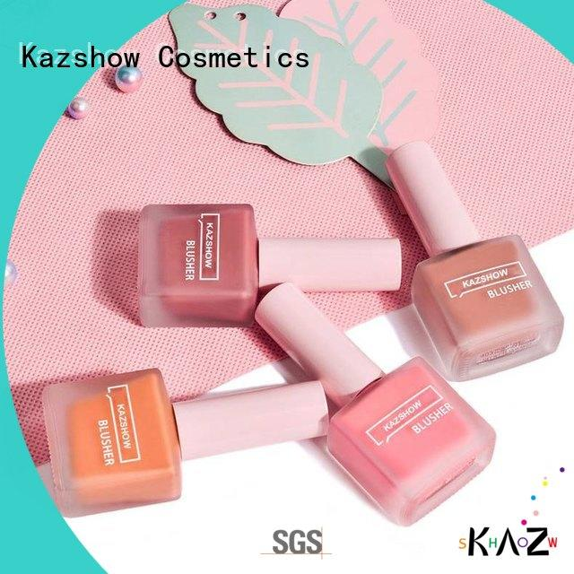 natural waterproof blush wholesale for face makeup